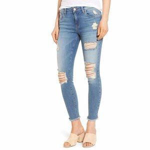 Denim - Nordstrom Ripped Skinny Jeans